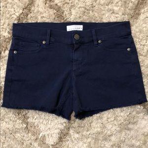 LOFT Navy Blue Shorts